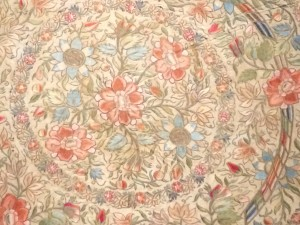 Blossoming Round Cover; 1800's; Turkey