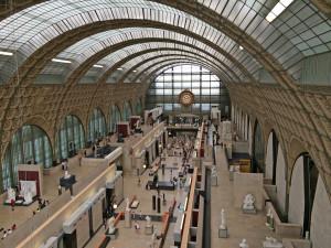 Museé d'Orsay interior; Paris' 7/23/15