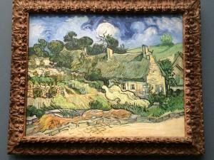 Van Gogh: Chaumes de Cordeville à Auvers-sur-Oise; Museé d'Orsay; Paris; 7/23/15