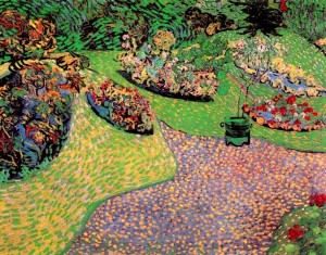 Van Gogh-garden-in-auvers-1890-wikiart.org