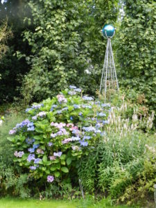 Obelisk in Dutch garden